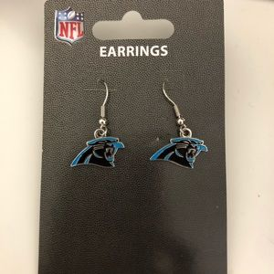 NC Panthers NFL Official Store Drop Earrings